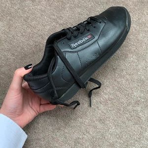 Reebok leather trainers